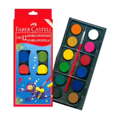 Acuarella Faber castell x 12 Colores