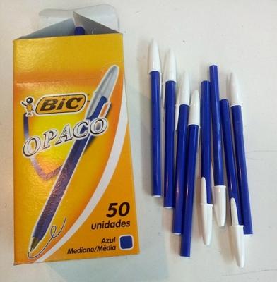 Boligrafo Bic x50 Opaco