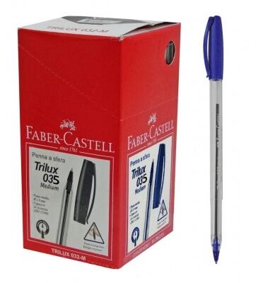 Boligrafo Faber Trilux x50