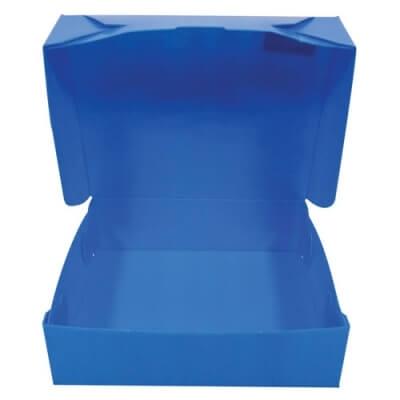 Caja de Archivo Plastica Azul Legajo Nro.2