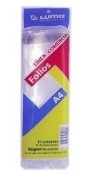 Folio Luma A4 Extra Cristal x10