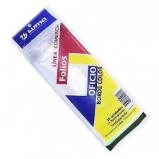 Folio Luma Oficio Pesado C/borde Color X10u.