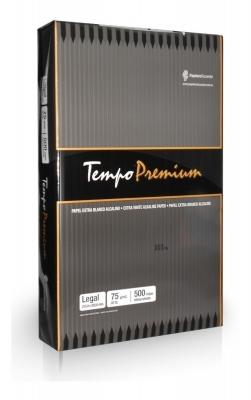 Resma Tempo Premium Oficio 75 grs