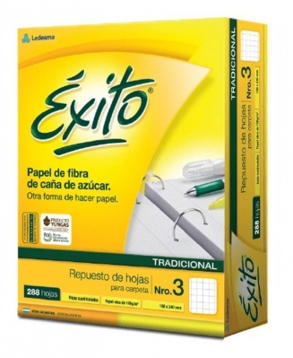 Repuesto Exito Ecologico X288 H Cuadriculadas