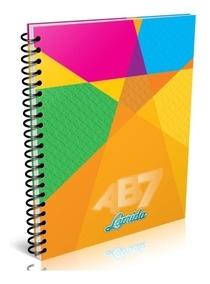 Cuaderno Laprida Ab7 Tradicional 21x27 X100h