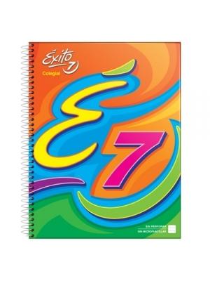 Cuaderno Exito 21x27 Colegial Ecologico X60h cuadriculadas