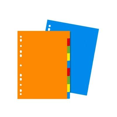 Separador Util-of Plast 5 Lenguetas Of Color