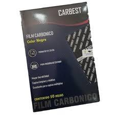 Papel Carbonico Carbest x50
