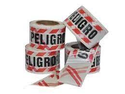 Cinta Peligro 200mts Doble Faz