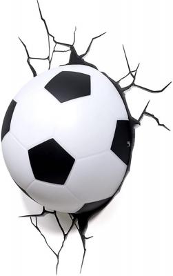 Vinilo impreso efecto 3D Futbol - 80x80cm - MODELO: 3D_0002