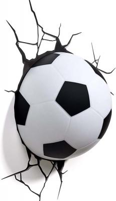 Vinilo impreso efecto 3D Futbol - 80x80cm - MODELO: 3D_0003