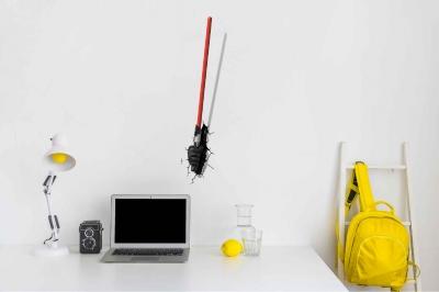 Vinilo impreso efecto 3D Star Wars - 60x60cm - MODELO: 3D_0021