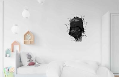 Vinilo impreso efecto 3D Darth Vader de Star Wars - 60x60cm - MODELO: 3D_0023