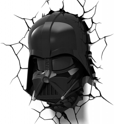 Vinilo impreso efecto 3D Darth Vader - 80x80cm - MODELO: 3D_0023