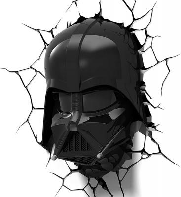 Vinilo impreso efecto 3D Darth Vader - 100x100cm - MODELO: 3D_0023