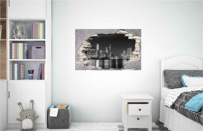 Vinilo impreso efecto 3D Nueva York - 60x60cm - MODELO: 3D_0030