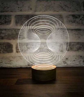 Lámpara LED 3D - MOD: Led_00002