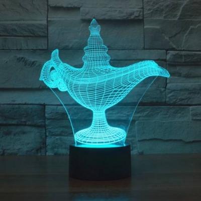 Lámpara de Aladino LED 3D - MOD: Led_00003