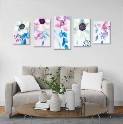 Flores - 5 módulos - 150 x 60cm - Modelo: CDM_002