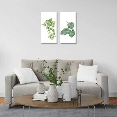 Plantas - 2 módulos - 40 x 60cm- Modelo: CH_002