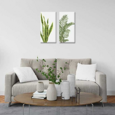 Plantas varias - 2 módulos - 40 x 60cm- Modelo: CH_004