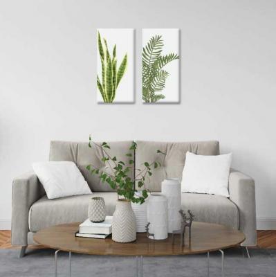 Plantas - 2 módulos - 60 x 60cm - Modelo: CH_004
