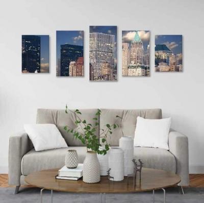 Ciudad de Nueva York - 5 módulos - 150 x 60cm - Modelo: CCI_005