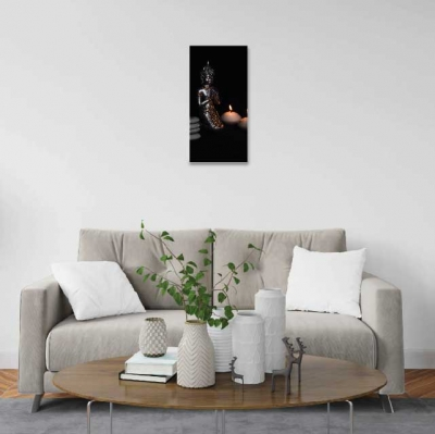 Buda y velas - 1 módulo - 30 x 60cm- Modelo: CBD_004