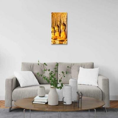 Budas dorados - 1 módulo - 30 x 60cm- Modelo: CBD_005