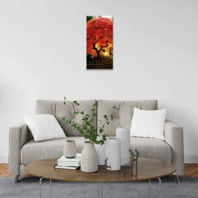 Árbol de la vida naranja - 1 módulo - 30 x 60cm- Modelo: CAR_013