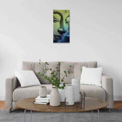 Buda en piedra - 1 módulo - 30 x 60cm- Modelo: CBD_010