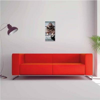 Buda sobre madera - 1 módulo - 30 x 60cm- Modelo: CBD_011