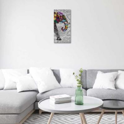 Mándalas y elefantes - 1 módulo - 30 x 60cm- Modelo: CMDL_001