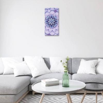 Mándala violeta- 1 módulo - 30 x 60cm- Modelo: CMDL_003